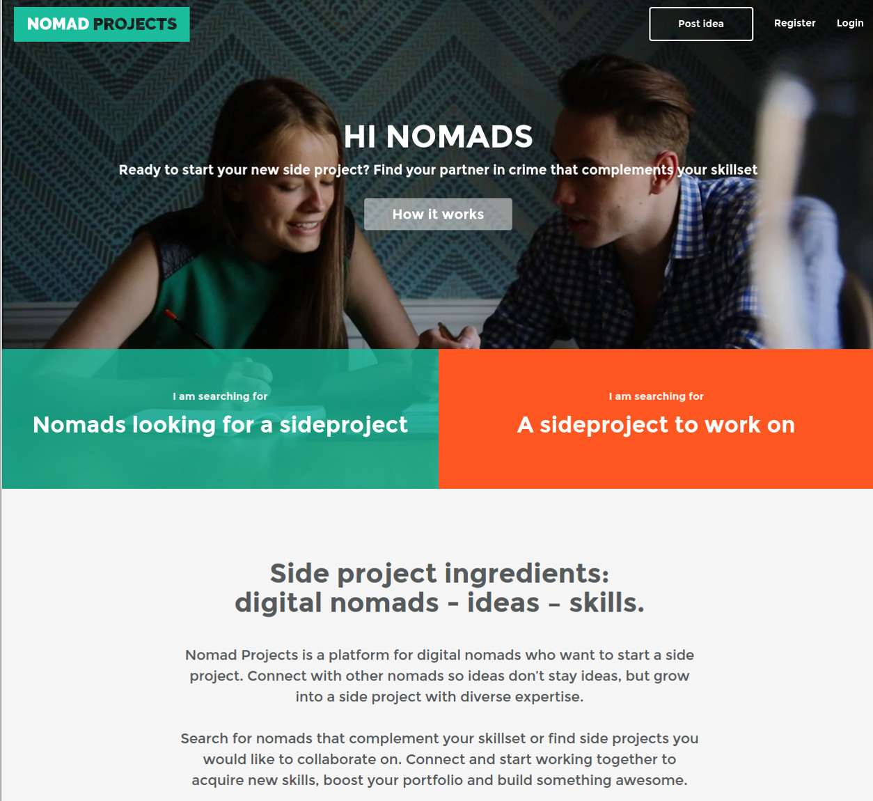 Nomadprojects